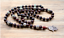 Mens Ladies Necklace Pendant Stone Beads with Hamsa Hand Mala Buddhist Style