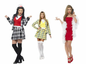 Image is loading Clueless-Costume-Ladies-Cher-Dionne-Fancy-Dress-TV-  sc 1 st  eBay & Clueless Costume Ladies Cher Dionne Fancy Dress TV Film Womans ...