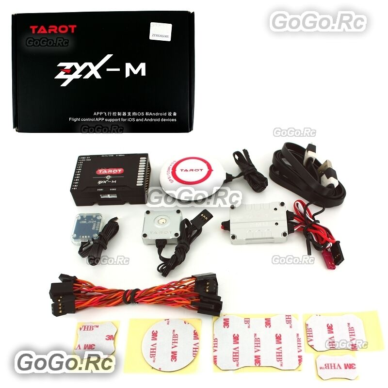 Tared ZYX-M Flight Control GPS Combo PMU Module For FPV RC Multiredor ZYX25