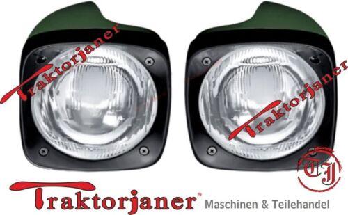 Ein Satz Scheinwerfer Frontscheinwerfer John Deere 820-3650