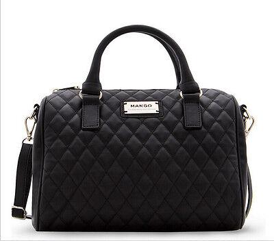 2014 Fashion Women Leather Handbag Plaid Elegant Bucket Bag Pillow Bag Mango#