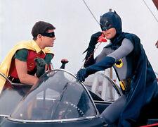 ADAM WEST BATMAN & ROBIN BURT WARD BATMOBILE TV 8X10 PHOTO PICTURE
