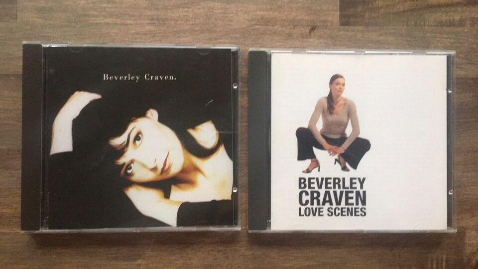 Beverley Craven: 2 CD albums, pop