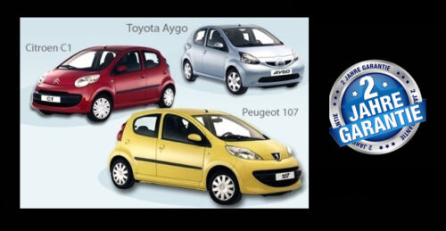 Toyota Aygo PS lamp Citroen c1 PS lamp Peugeot 107 ps lamp Toyota Aygo P//S lamp
