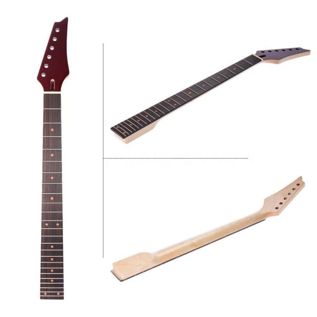 24 frets parts replacement maple neck rosewood fretboard for electric guitar for sale online ebay. Black Bedroom Furniture Sets. Home Design Ideas