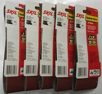 Skil 3 X 18 Sanding Belts 5-2packs 60 Grit 73106 Germany