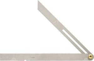 """Shinwa 62596 Japanese 10""""  / 25 cm Stainless Steel Sliding T Bevel Gauge"""