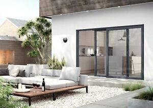 watch d24c0 10021 Details about Warmcore Sliding Patio Doors - Secure by design - Anthracite  Grey - Soft Close