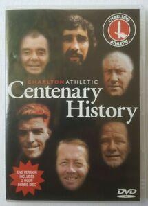 Charlton Athletic Centenary History Region 2 DVD 2-Disc Acceptable Pls Read Desc