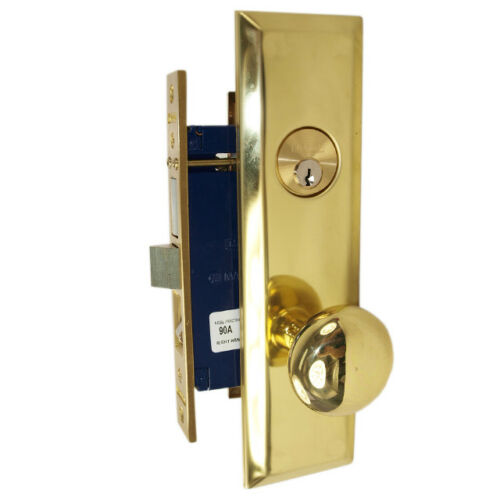 Marks 114A//3 Right Hand Apartment Entry Heavy Duty Mortise Lockset