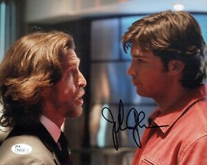 JOHN-GLOVER-Signed-SMALLVILLE-Lionel-Luthor-8x10-Photo-Autograph-JSA-COA