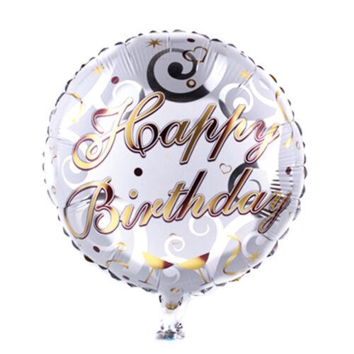 18-inch Round Music Pattern Balloons Birthday Party Decor Bar Xmas Gift HU