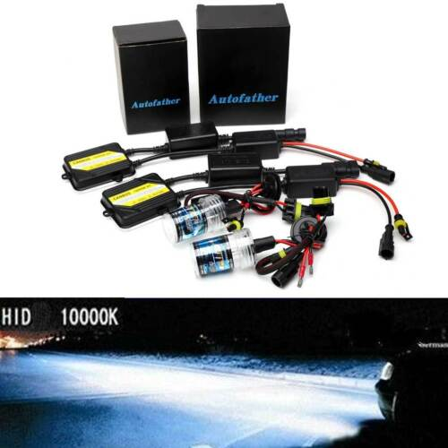 H7 HID SLIM AC Ballasts Kit Headlights 55W CANBUS ERROR FREE For Mercedes-Benz