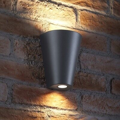 Auraglow 14w Indoor / Outdoor Double Up & Down Wall Light - Led Bulbs Included