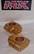 "BAR MOUNTS HUSQVARNA TC250 2014-2015 HUSKY HANDLE BAR CLAMPS 22mm 7/8"" STD BAR"