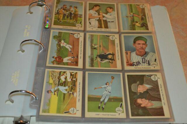 1959 Fleer Ted Williams Baseball Card Set Must See