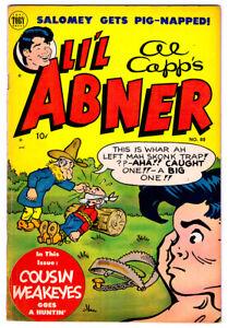 Al-Capp-039-s-LI-039-L-ABNER-88-in-VF-condition-a-1952-Golden-Age-Toby-comic