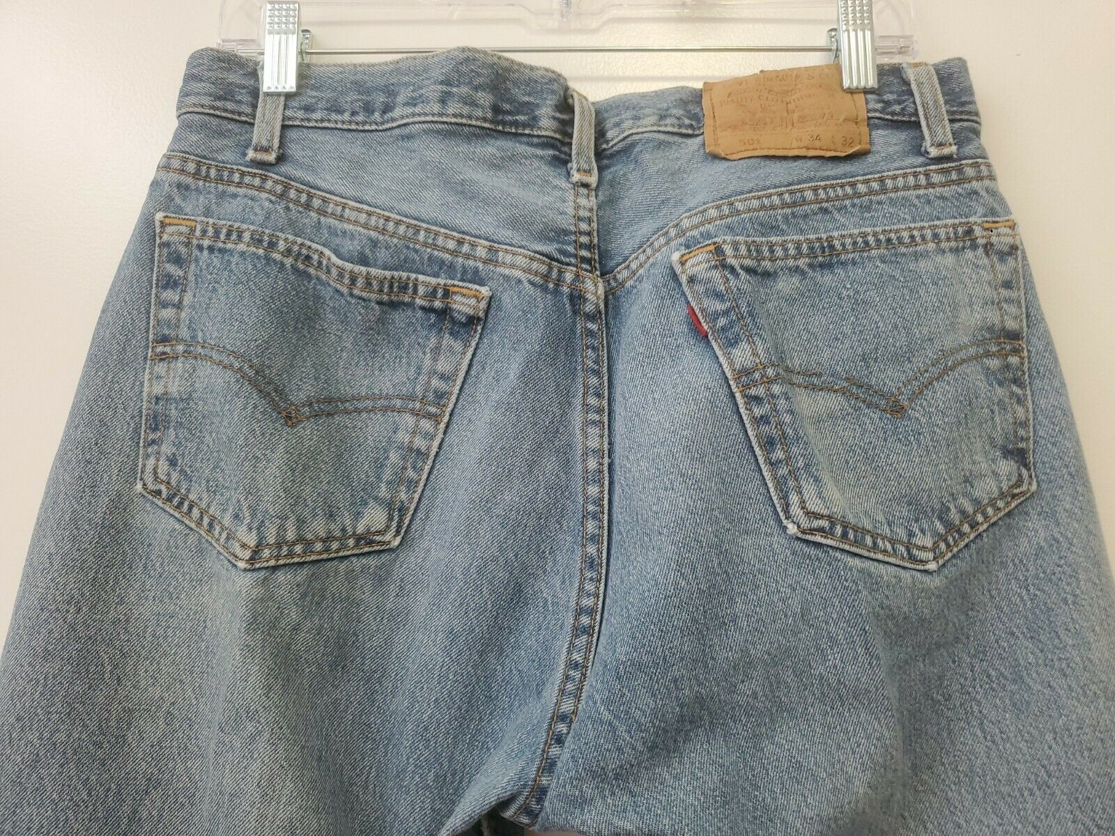 Vintage 501 Levis 34x32 Made In USA - image 7