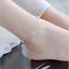 Women-925-Silver-Rhinestone-Adjustable-Star-Bead-Ankle-Chain-Bracelet-Jewelry thumbnail 1