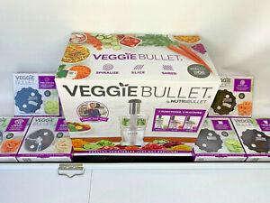 NEW-WITH-6-EXTRA-BLADES-Veggie-Bullet-Nutribullet-FOOD-PROCESSOR-VBR-1001-NIB