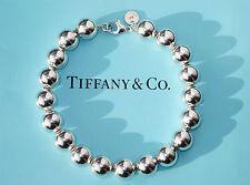 Tiffany & Co Sterling Silver 10mm Bead Bracelet
