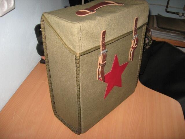 Dnepr K 750, MW 750, Ural M72, Packtasche, Koffer mit rotem Stern