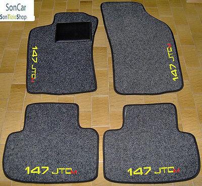 ALFA ROMEO 147 JTDM Tappeti AUTO Tappetini su misura 4 Block.......4 Decori