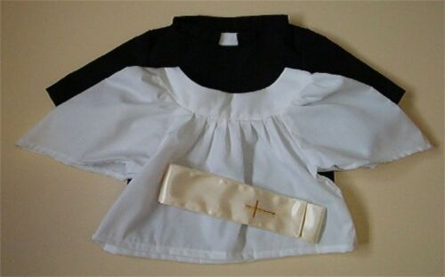 VICAR 3 PIECE OUTFIT - FITS TEDDY BEARS 16 INCH / 40cm TALL - MADE IN ENGLAND