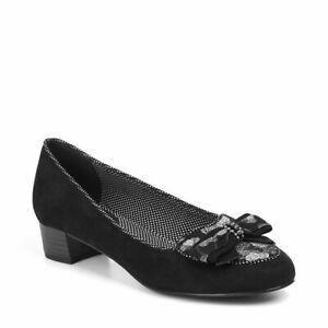 Shoo Pour Talons Mocassins Open Bas Chaussures Ruby 6 Noire Femme Victoria dUxRUgwq