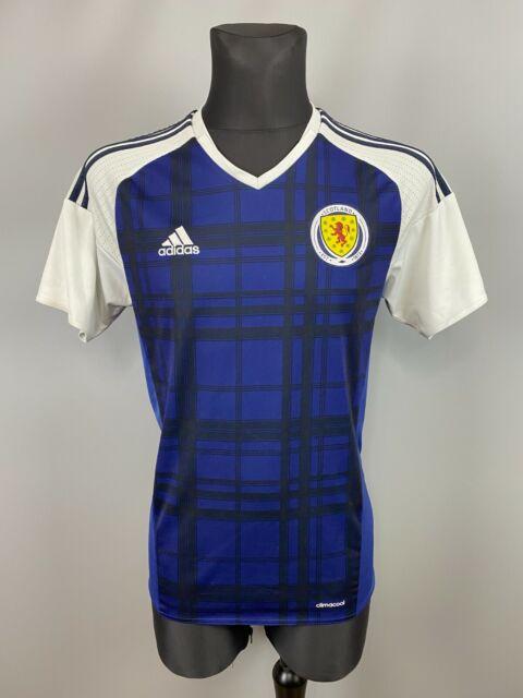 Scotland Jersey 2015 2017 Home L Shirt adidas Football Soccer ...