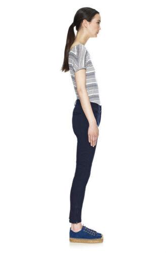 12 Donna Nuovo di Zecca WHISTLES ELLA PANNELLO Pantaloni Taglia 6 10 8
