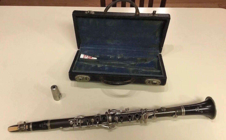 Vintage JEAN LAMBERT Clarinet mit Hartschalenkoffer