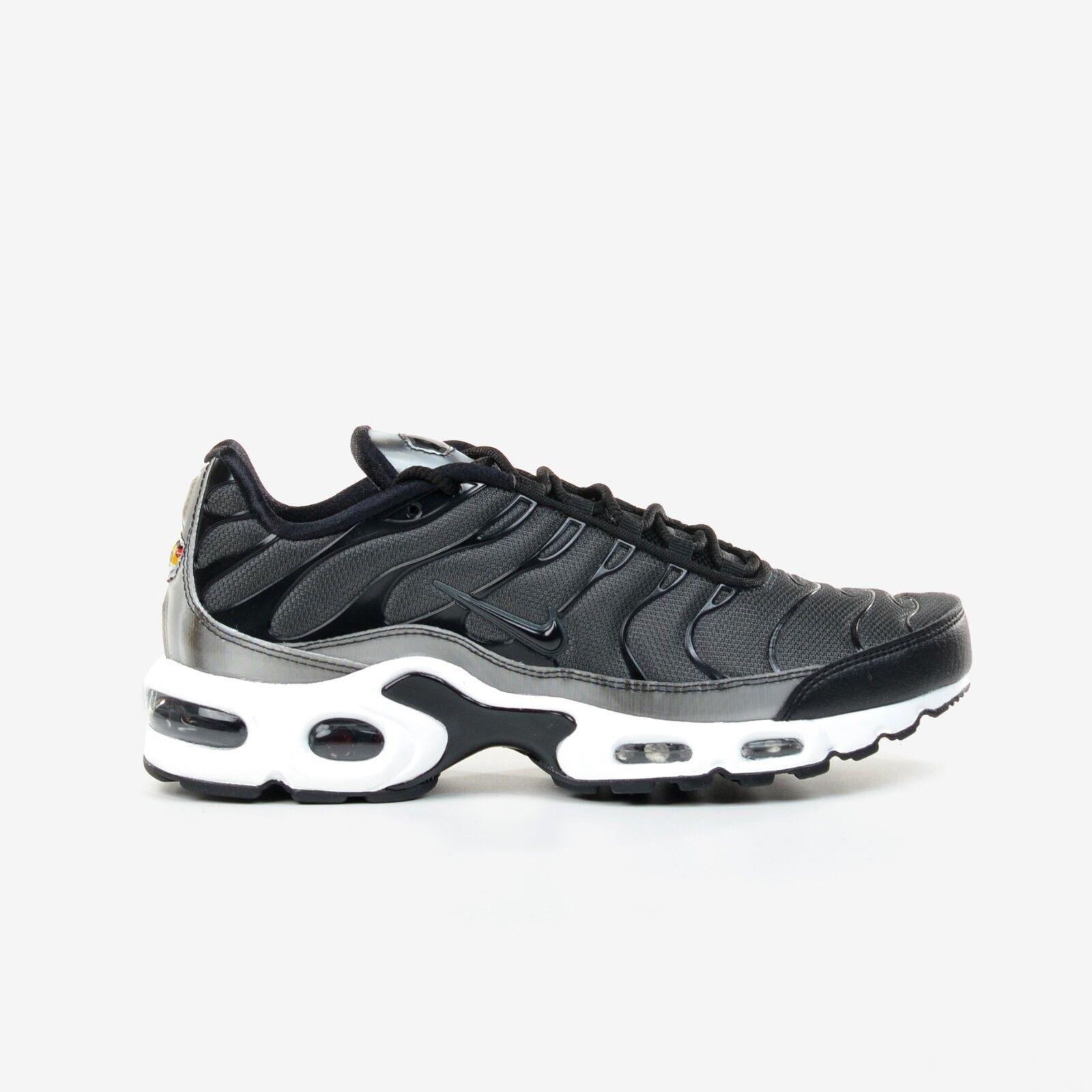 Nike air max e se le donne scarpe da corsa 862201-003 antracite bianco nero