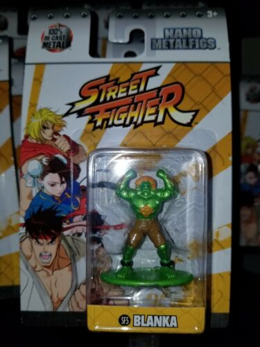 Jada Nano Metalfigs STREET FIGHTER BLANKA SF5 UFC MMA