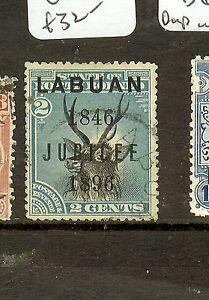 LABUAN (P2907B) 2C DEER SG84 JUBILEE VFU