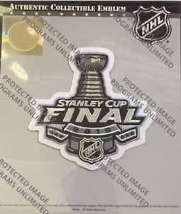 brand new 33ee9 13bfc Details about 2018 STANLEY CUP FINAL JERSEY PATCH NHL VEGAS GOLDEN KNIGHTS  WASHINGTON CAPITALS