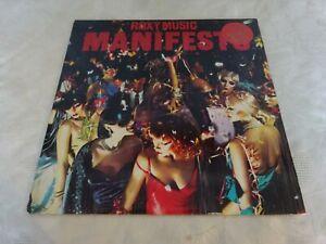 Roxy-Music-Manifesto-LP-Original-Album-LP-Record-Vinyl