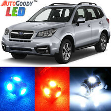9 x Premium Xenon White LED Lights Interior Package Kit for Subaru Forester