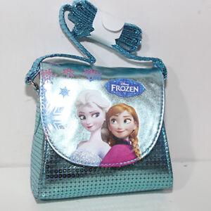 bb4f036297 Caricamento dell'immagine in corso Borsa-Frozen-Disney-bag-tracolla -celeste-piccola-borsetta-