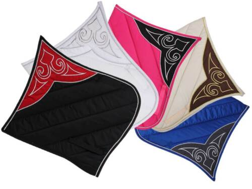 BAROQUE SADDLE PAD, Dressage Saddle Pad Baroque Extreme, 5 different colours