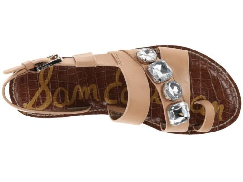 Donna Strass Con Stile Dailey Brillanti Sandali Sam Pelle Gladiatore Edelman 8g5HqH