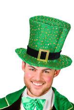 kleiner grüner Zylinderhut St Patricks Day grün Haarreif Irland Pub 12847