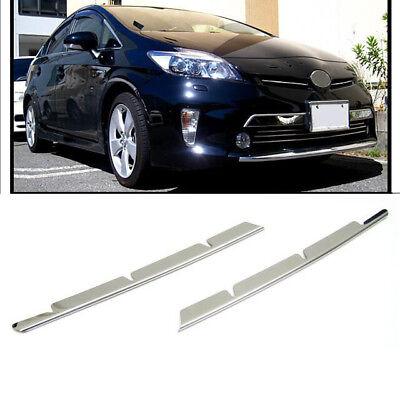 SUS304 Stainless Steel Grill Garnish Trim Upper For Toyota Prius ZVW30 2012-2015
