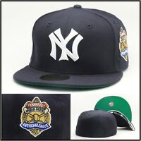 Era York York Yankees Fitted Hat 1927 World Series Side Patch Mlb