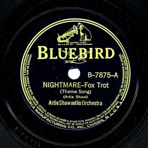 ARTIE-SHAW-and-his-Orchestra-on-Bluebird-B-7875-Nightmare-Non-Stop-Flight
