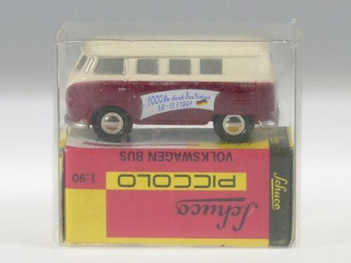 "Schuco Piccolo VW t1 furgoneta/"" 2000 km por alemania/"" # 50131101"