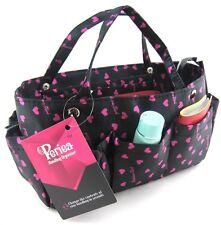 Periea handbag organiser black and pink, tidy, organizer, purse insert -Tilly