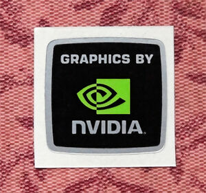Graphics-by-Nvidia-Sticker-18-x-17-5mm-Case-Badge-Logo-Label-USA-Seller