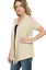 Women-039-s-Solid-Short-Sleeve-Cardigan-Open-Front-Wrap-Vest-Top-Plus-USA-S-3X thumbnail 87
