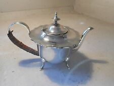 Small Silver Plate Teapot , Coffee Pot   ref 2301